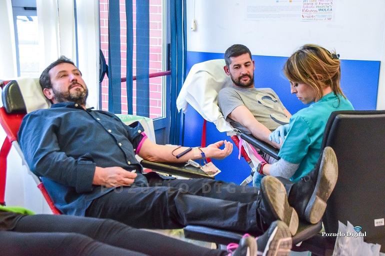 Pozuelo de Calatrava Nuevo éxito de respuesta ciudadana a la convocatoria de la Hermandad de Donantes de Sangre