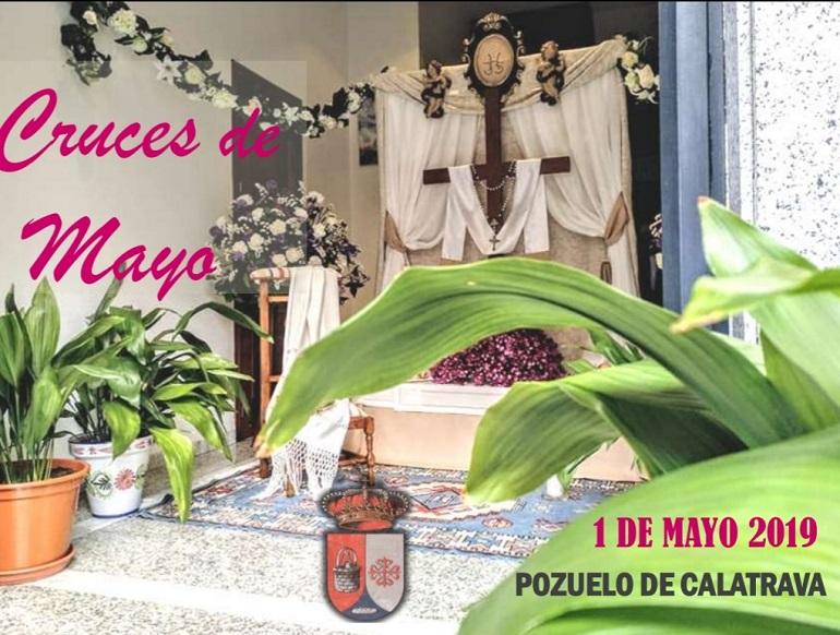 Pozuelo de Calatrava celebrará el primer día de mayo la III Edición del Concurso de las Cruces de Mayo