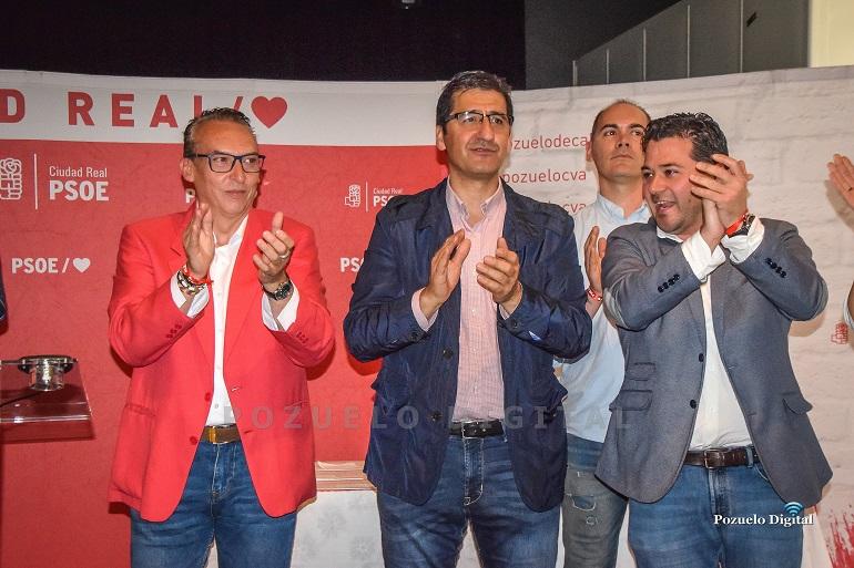 El PSOE de Pozuelo de Calatrava presentó su lista electoral a los próximos comicios municipales con Luís Hornero a la alcaldía