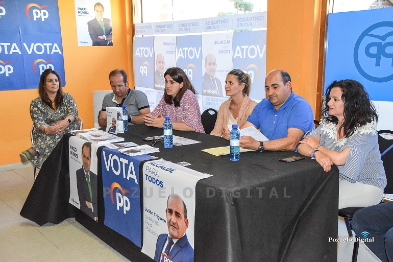 La Secretaria General Regional de PP, Carolina Agudo, comprometida firmemente en apoyar desde la Junta para que la Residencia de Mayores sea toda una realidad.