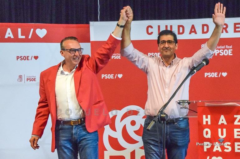Luis Hornero con José Manuel Caballero
