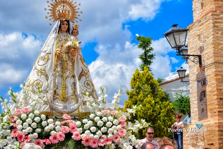 Pozuelo de Calatrava celebra este segundo domingo de mayo la Misa de la Justicia en honor a su patrona la Virgen de los Santos