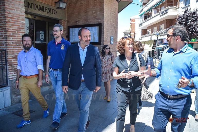 """Soraya Rodríguez en Miguelturra """"Todos los Parlamentarios Europeos de Ciudadanos vamos a trabajar para que no haya una disminución de un solo euro para España"""""""