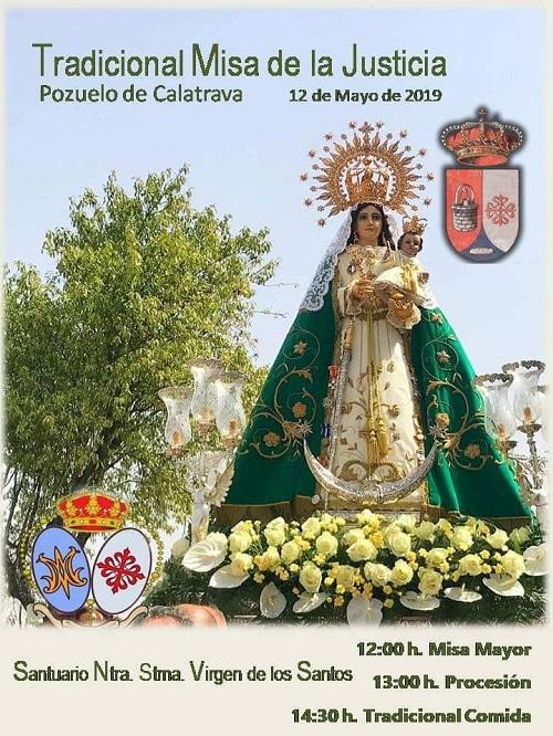 virgen de los santos misa de la justicia