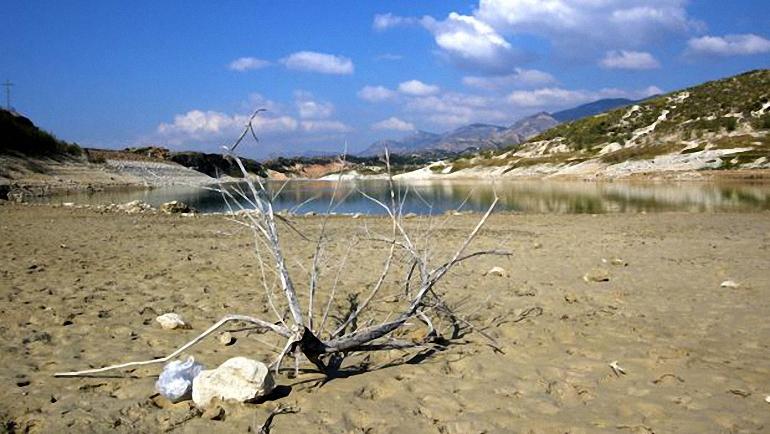 Campo de Calatrava Alerta de sequía en la Vega del Jabalón