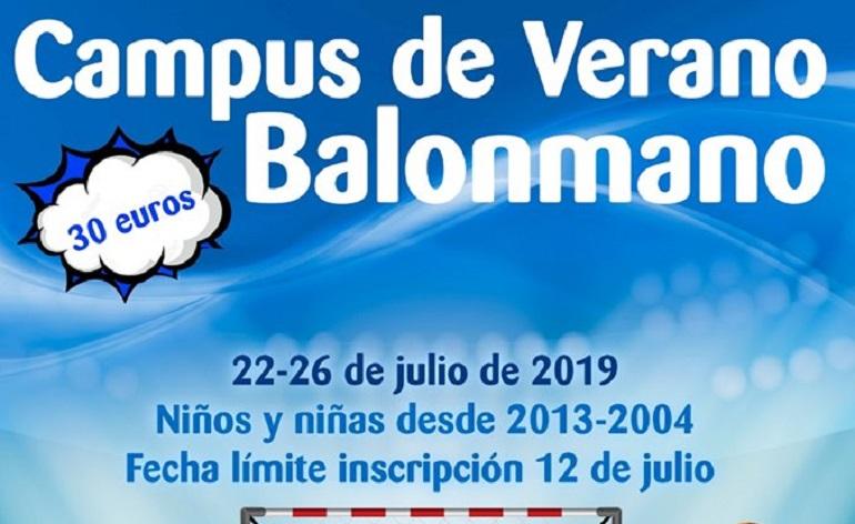 El Club Balonmano Pozuelo organiza del 22 al 26 de julio su Campus de Verano de Balonmano