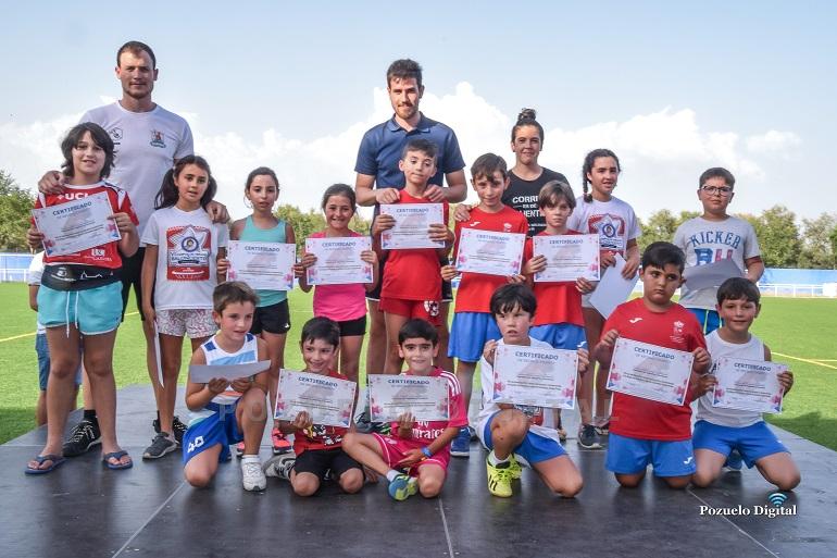Las Escuelas Deportivas Municipales de Pozuelo de Calatrava celebraron la Fiesta de Clausura con la entrega de diplomas del curso 2018-2019