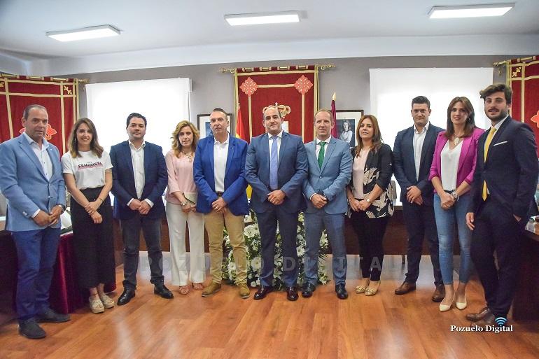 Nueva Corporación Municipal de Pozuelo de Calatrava 2019