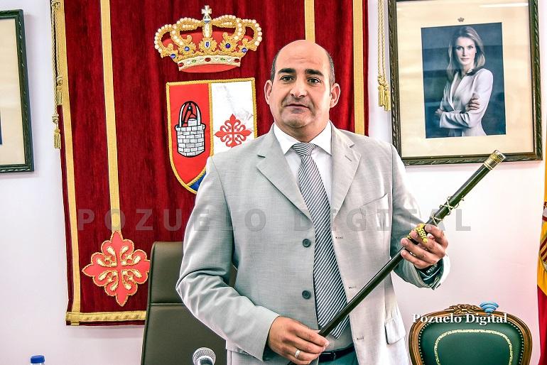 Pozuelo de Calatrava Julián Triguero volverá a ser investido alcalde este sábado tras obtener la mayoría absoluta en las últimas elecciones municipales