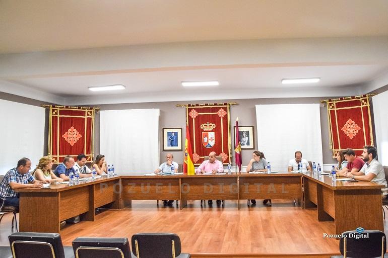 Pozuelo de Calatrava Primer pleno de la nueva legislatura para constituir la nueva corporación local