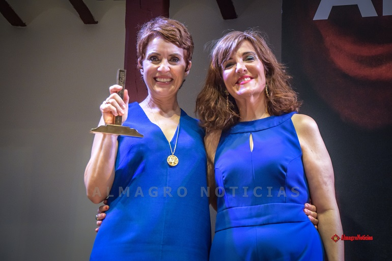 Almagro Adriana Ozores recibió el XIX Premio Corral de Comedias en una noche de marcado carácter feminista