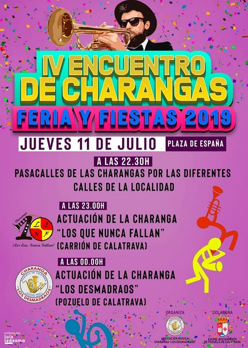 IV Encuentro de Charangas Feria y Fiestas 2019 Pozuelo de Calatrava