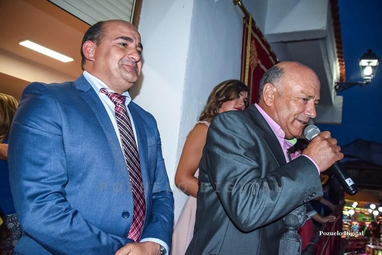 """La tradicional """"calimochá"""" y el Pregón de Eusebio Angulo inauguraron la Feria y Fiestas 2019 en Pozuelo de Calatrava"""