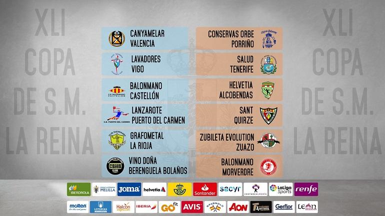 El BM Bolaños se enfrentará al BM Morvedre en la primera fase de la Copa de la Reina