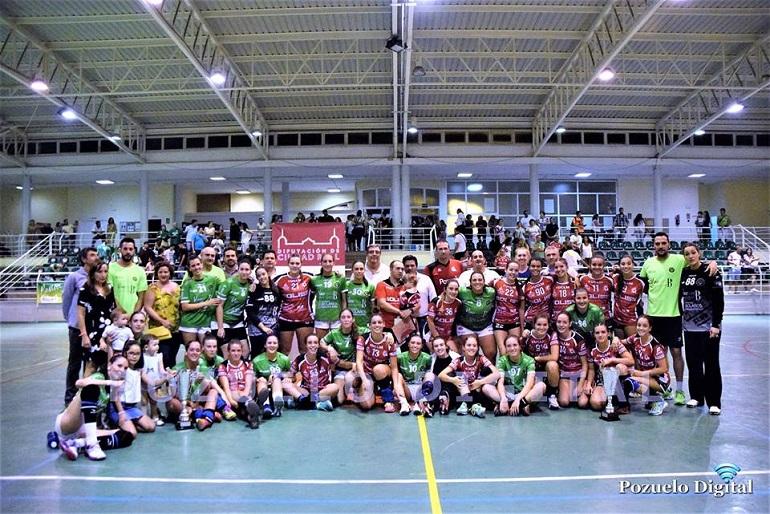 El Soliss BM Pozuelo y el BM Bolaños se disputan este sábado el Trofeo Diputación de Balonmano