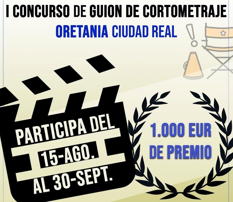 Oretania Ciudad Real convoca un concurso nacional de cortos