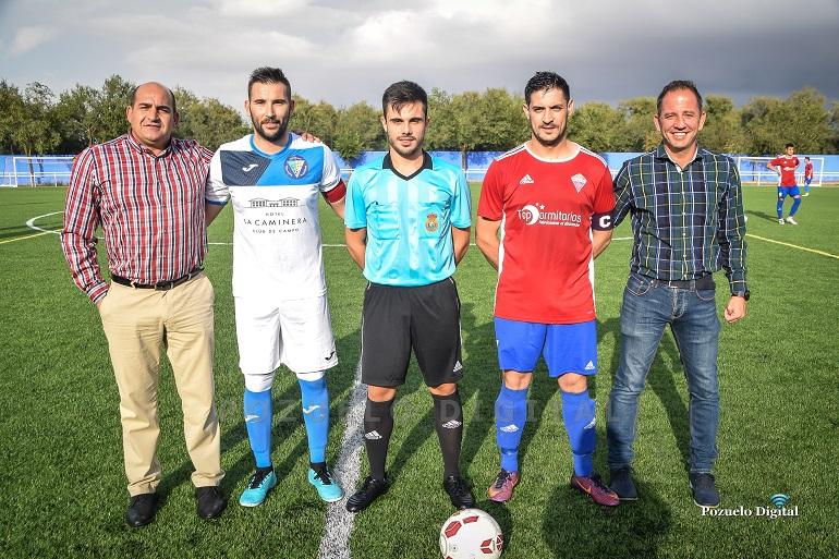 El Pozuelo CF no pudo con el Sporting Torrenueva en la XXVIII Edición del Trofeo Pozo Concejo