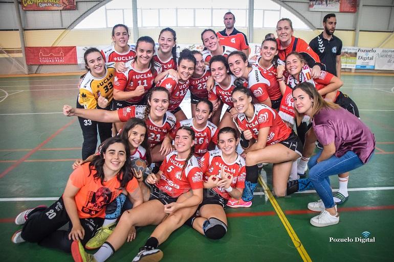 El Soliss BM Pozuelo consigue los dos primeros puntos en casa frente al Universidad de Granada