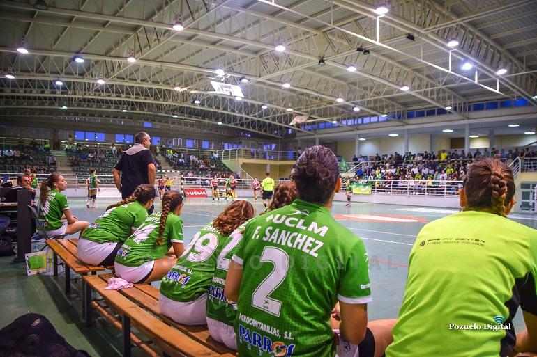 El Soliss BM Pozuelo no pudo arañar ningún punto en el primer partido de liga en el Macarena Aguilar