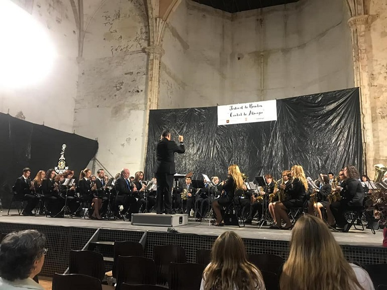 La Agrupación Musical José Gracia Sánchez participó este pasado sábado en el I Festival de Bandas de Música de Almagro