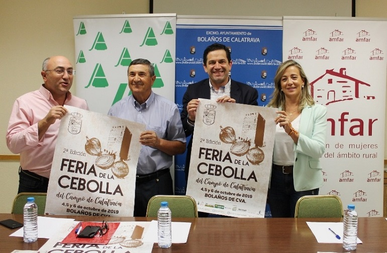 Bolaños Este viernes arranca la Feria de la Cebolla del Campo de Calatrava
