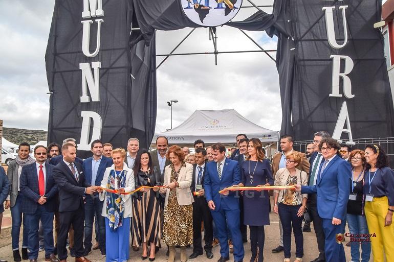 Moral de Calatrava Completo éxito de la inauguración de Mundo Rural, la I Feria Nacional del Sector Primario