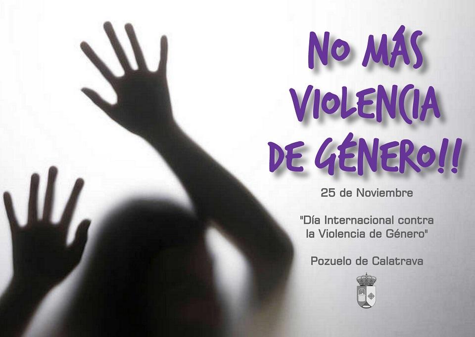 Pozuelo de Calatrava dice No a la Violencia de Género