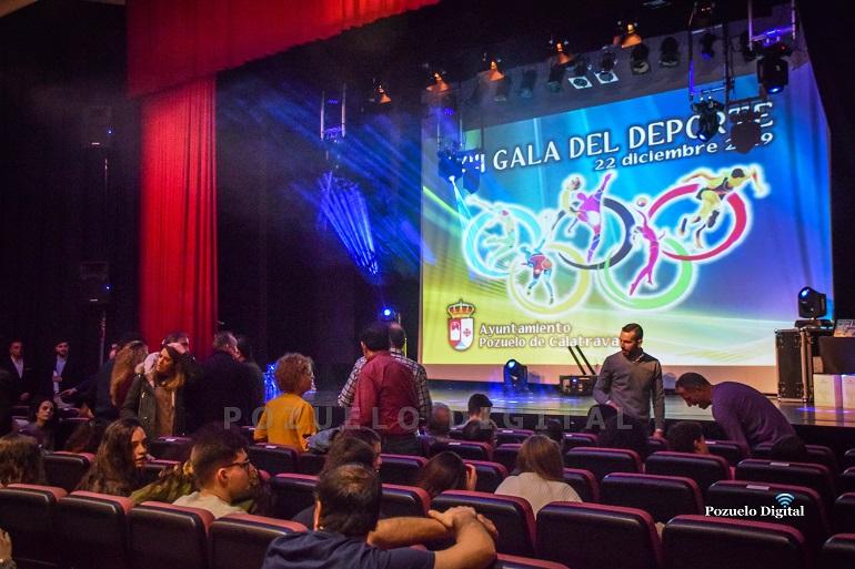 Pozuelo de Calatrava celebro su XIII Gala del Deporte 2019 en homenaje a sus deportistas