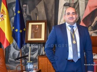 Julián Triguero Calle ha tomado posesión como Diputado Provincial al inicio del Pleno de la Diputación 01
