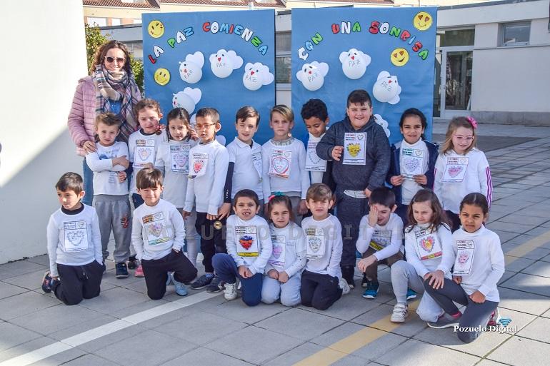 Pozuelo de Calatrava El Colegio José María de la Fuente ha celebrado este jueves el Día Escolar de la Paz y la No Violencia