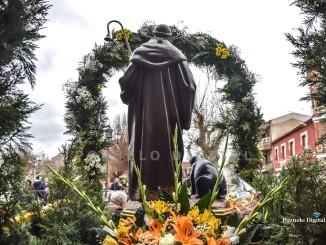 Pozuelo de Calatrava culminó la festividad de San Antón con la procesión y bendición de los animales