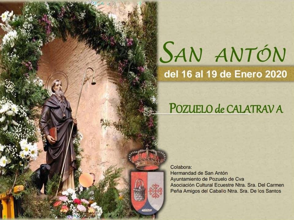 Programa de actos en honor a San Anton