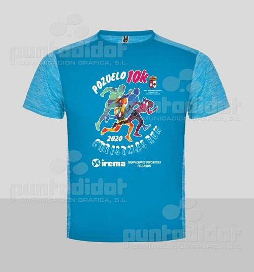 camiseta Christmas Run Pozuelo de Calatrava