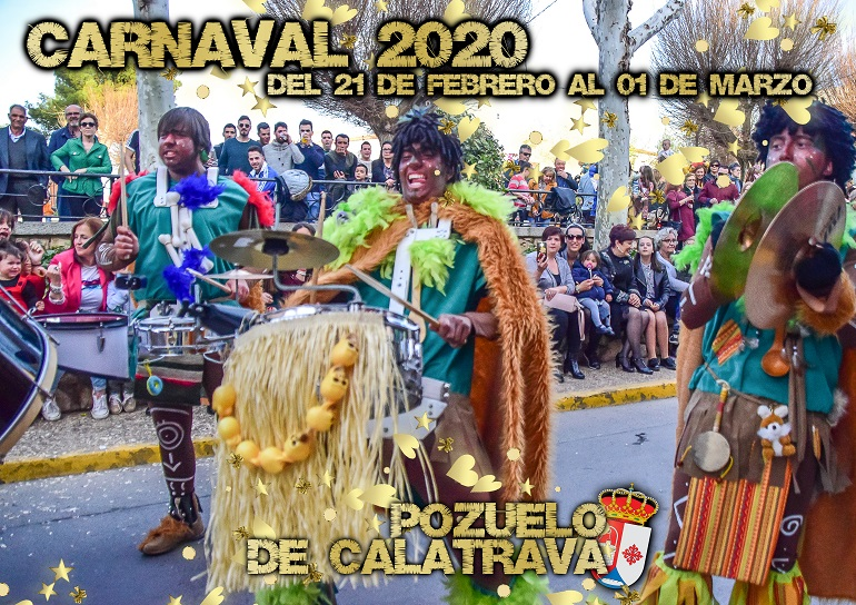 Pozuelo de Calatrava La Charanga Los Desmadraos darán el pistoletazo de salida a los Carnavales 2020