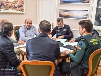 Pozuelo de Calatrava Reunión de la Junta Local de Seguridad para tratar medidas y protocolos de actuación ante los Carnavales 2020